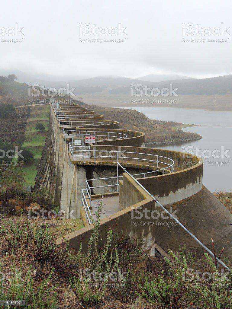 Sutherland Dam stock photo