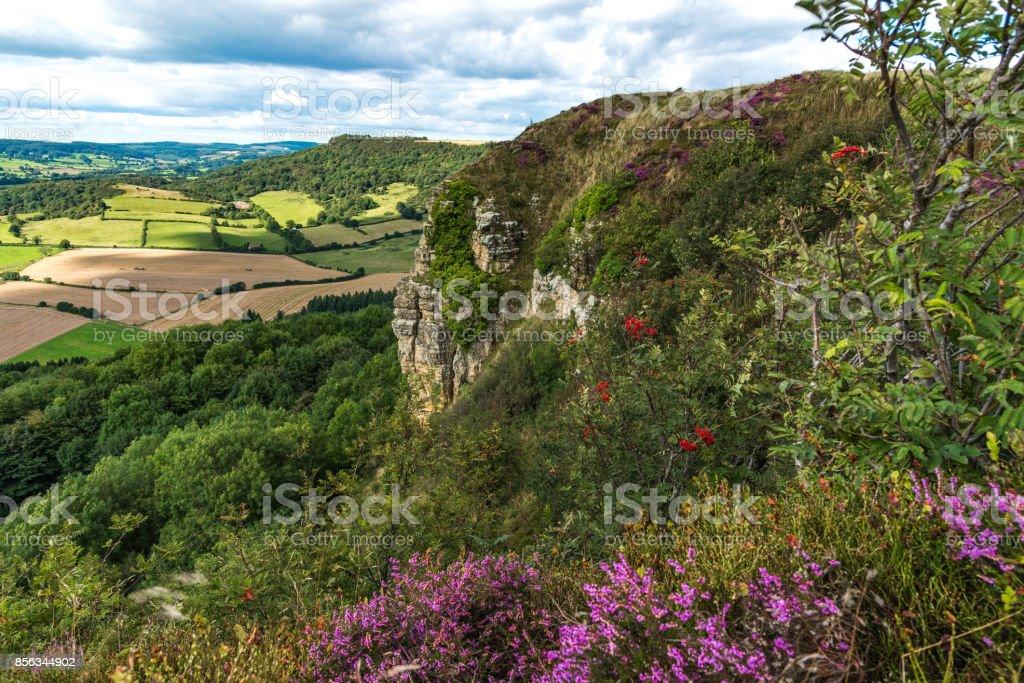 Sutton Bank Landscape stock photo