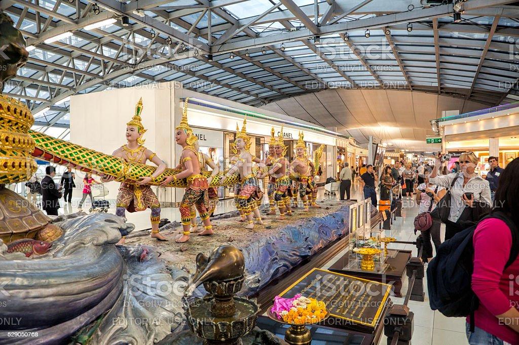 Aeropuerto Suvarnabhumi, Tailandia - foto de stock