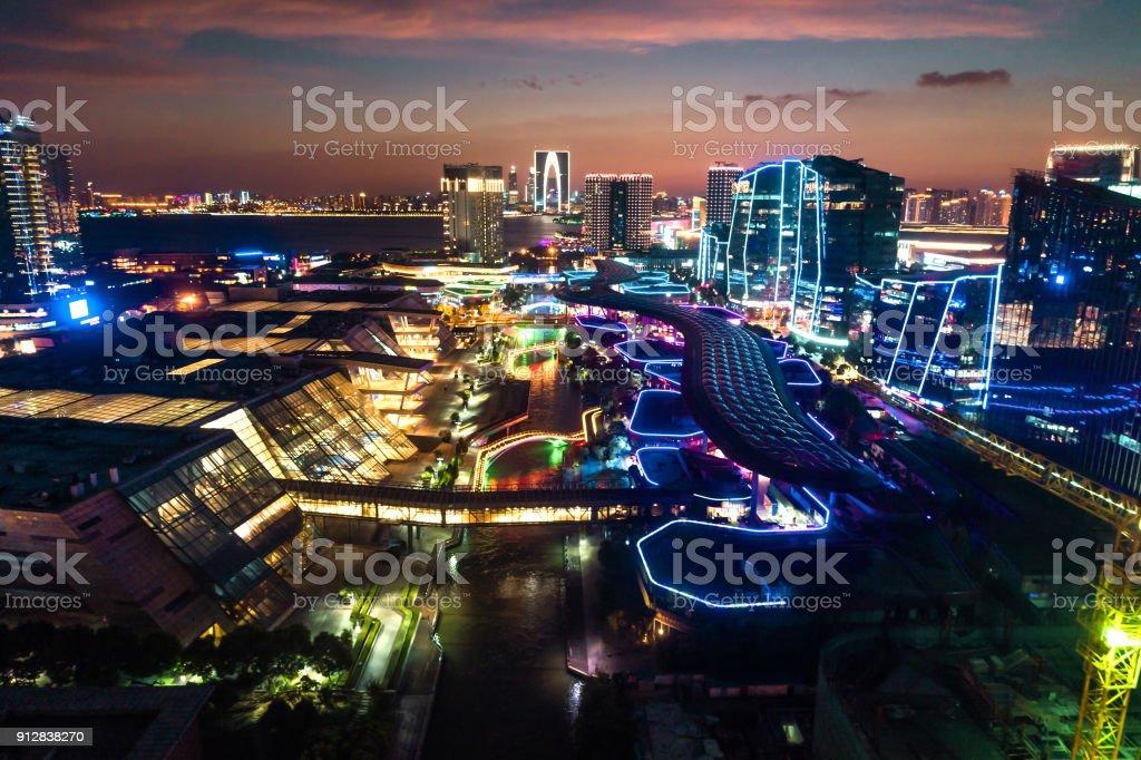 Suzhou Industrial Park stock photo