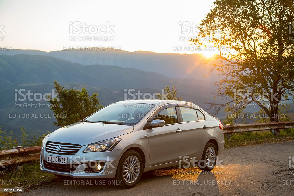 Suzuki Ciaz sedan car stock photo