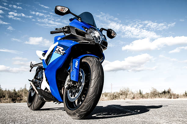 suzuki gsx-r750 - moto sport photos et images de collection