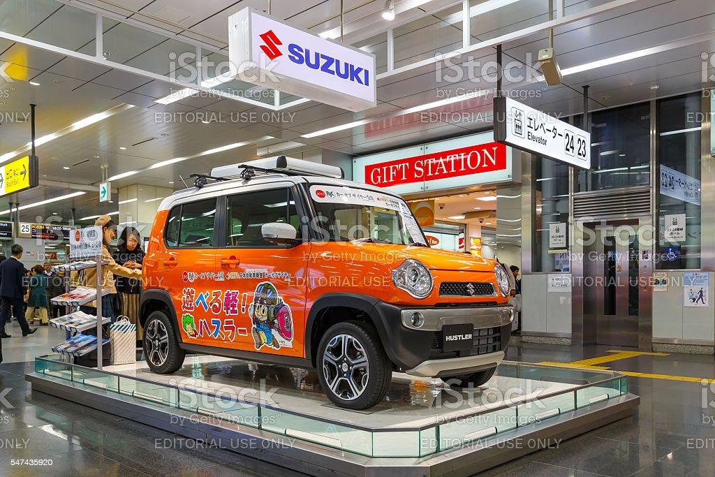 Suzuki Hustler stock photo