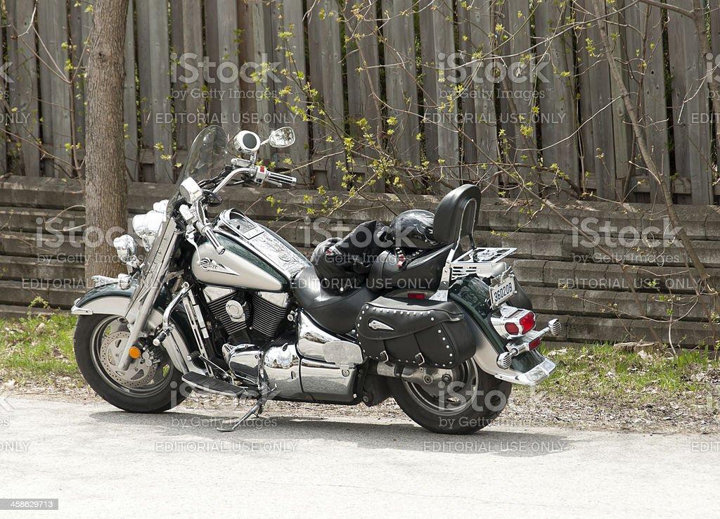 Suzuki motorcycle stock photo