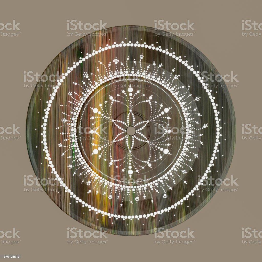 Svadhisthana the sacral chakra stock photo
