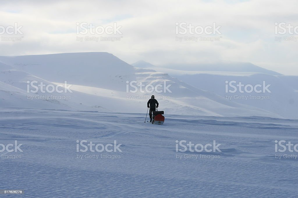 Svalbard Norway stock photo