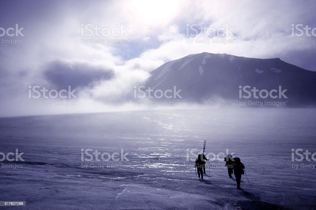 Svalbard Norway stock photo