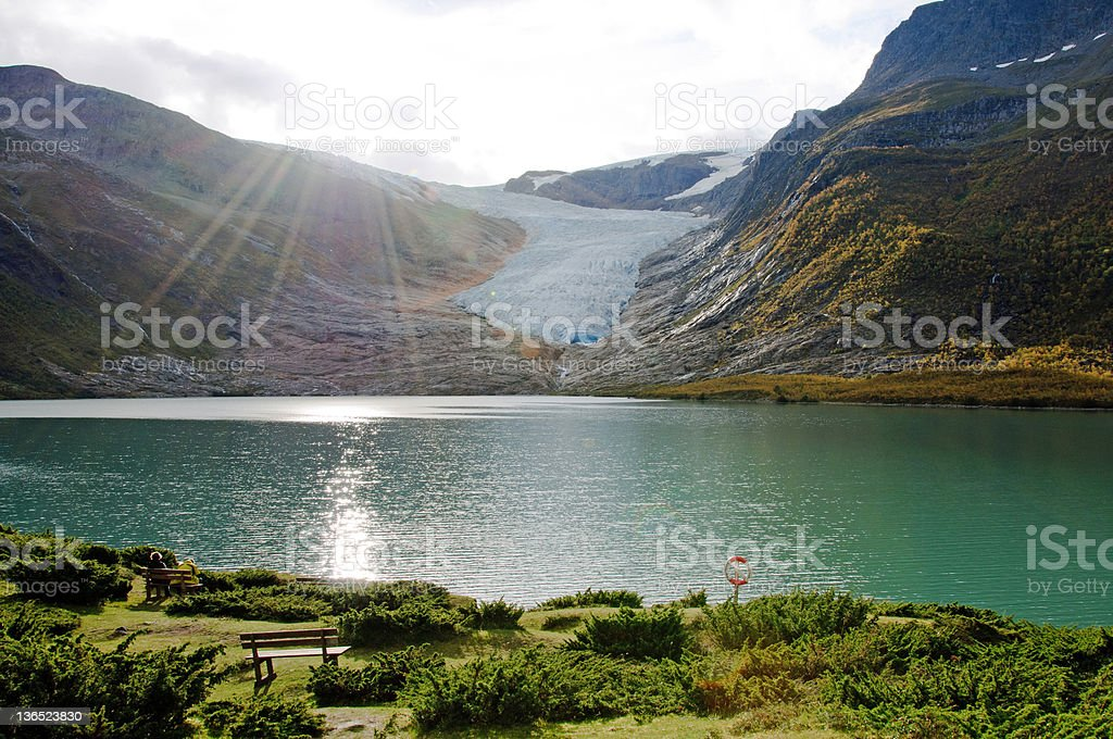 Svartisen Glacier lake – Foto
