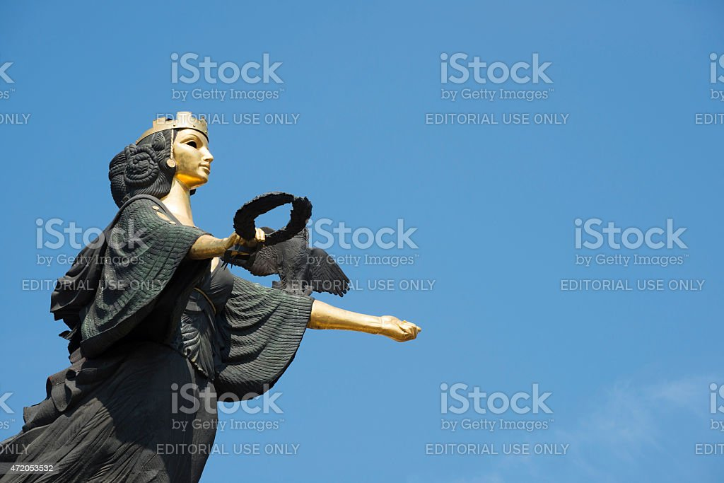 Sveta Sofia monument in Sofia Buglaria stock photo
