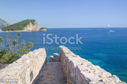 istock Sveti Nikola Island in Budva. Montenegro. 1328494529
