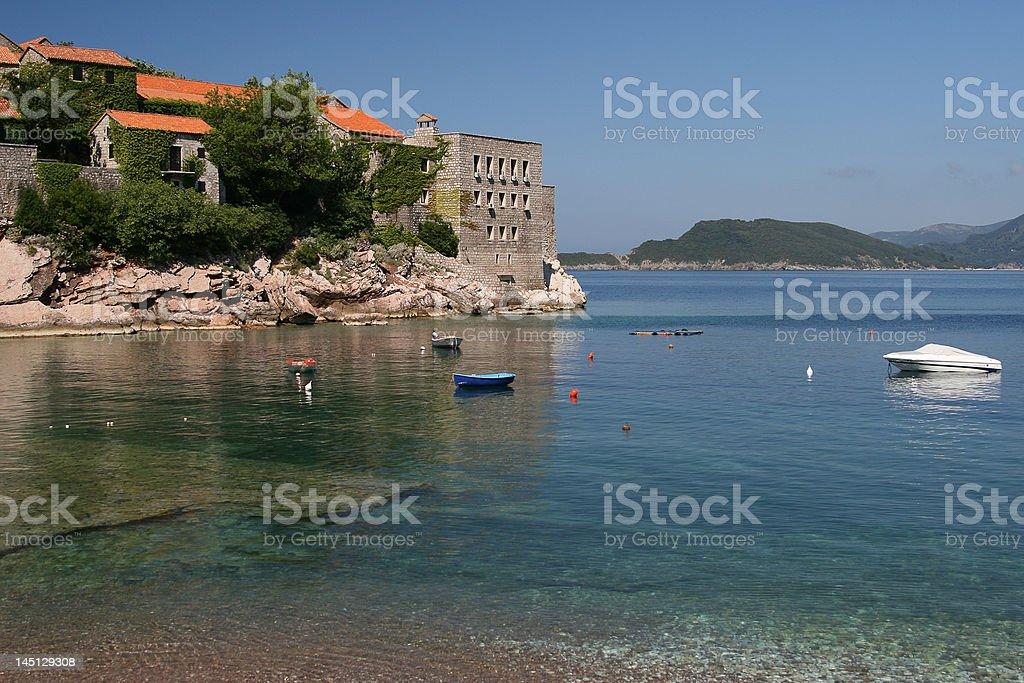 Sveti Stefan, Montenegro royalty-free stock photo