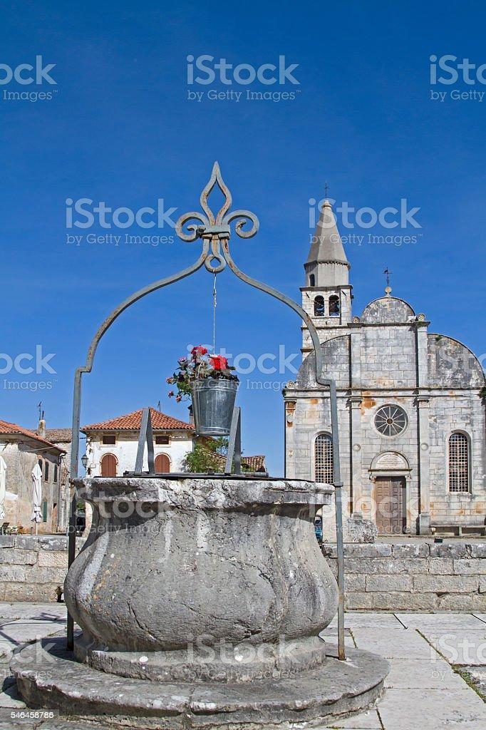 Svetincenat in Istria stock photo