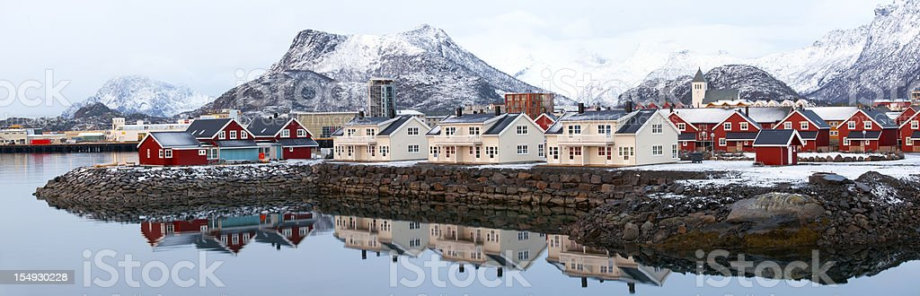 Svolvaer, Lofoten Islands. royalty-free stock photo
