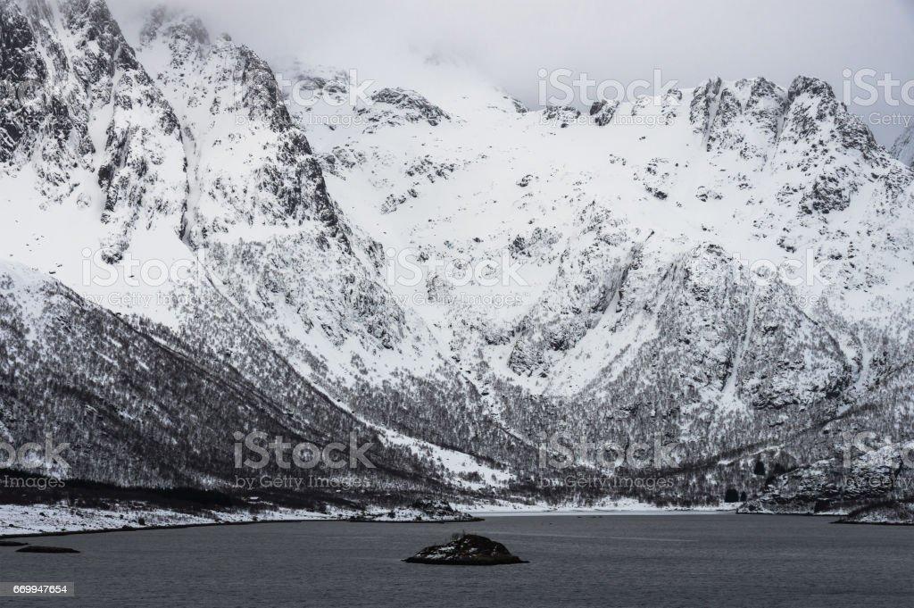Svolvaer royalty-free stock photo