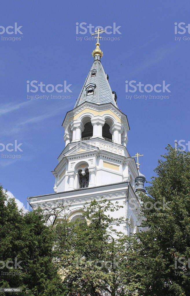 Svyato-Preobrajenskiy-Sobor in Schytomyr. Der Ukraine. Lizenzfreies stock-foto
