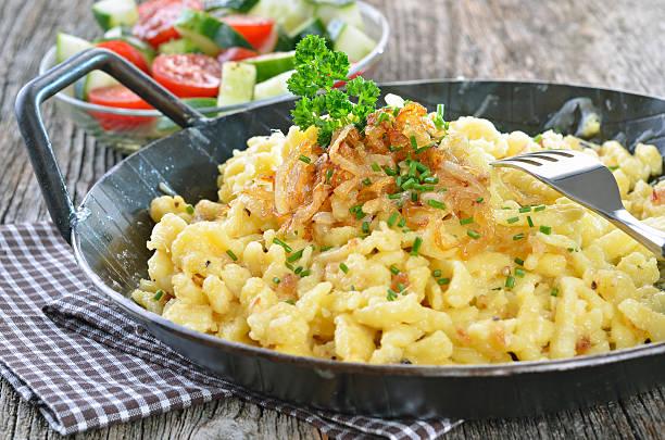Schwäbische Käse-Nudeln – Foto