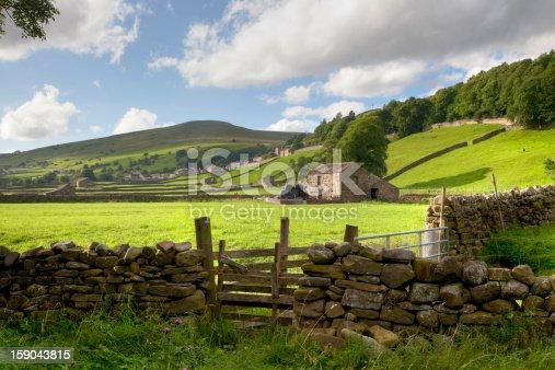 istock Swaledale, Yorkshire Dales, England 159043815