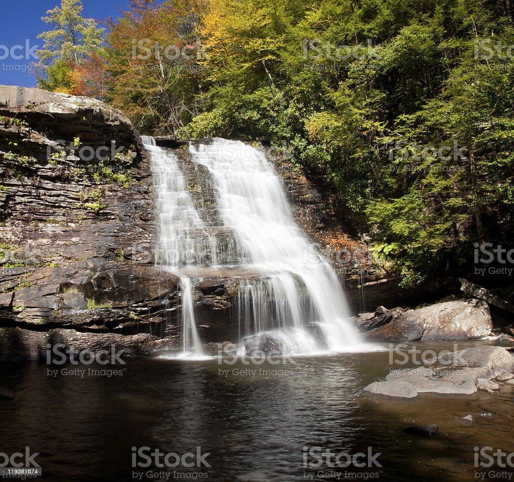 Swallow Falls Maryland royalty-free stock photo