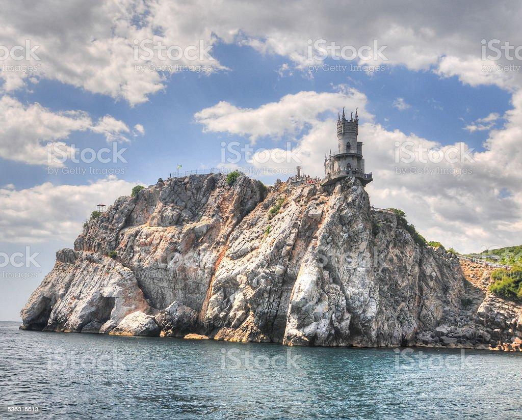 Swallow's Nest Castle, Crimea stock photo