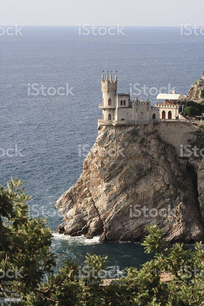 Swallow's Nest, Crimea, Ukraine royalty-free stock photo
