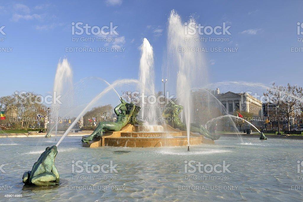 Swann Memorial Fountain royalty-free stock photo