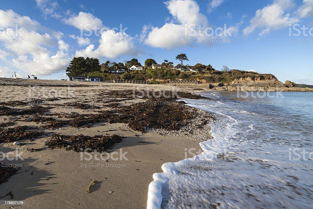 Swanpool Falmouth Cornwall stock photo
