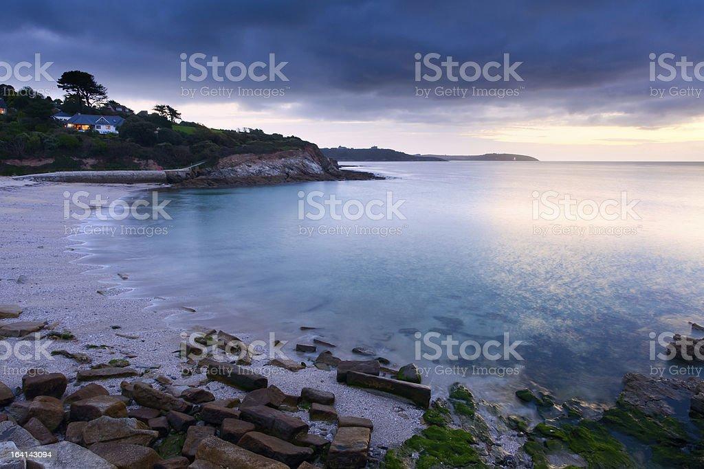 Swanpool Sunrise stock photo
