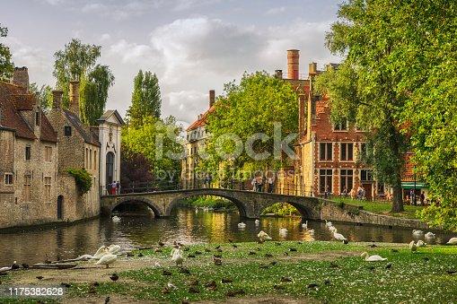 Wijngaardplein, Bruges, Belgium