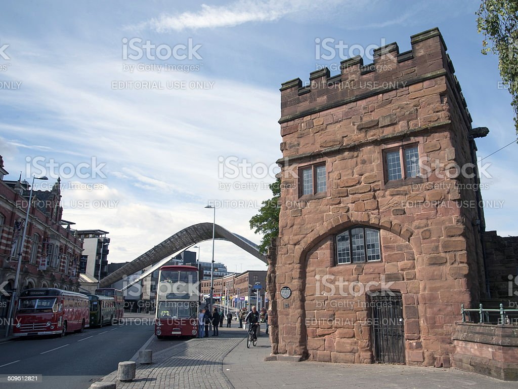 Swanswell Gate, Coventry stock photo