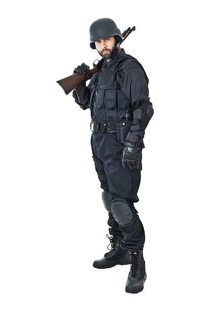 swat - kevlar weste stock-fotos und bilder