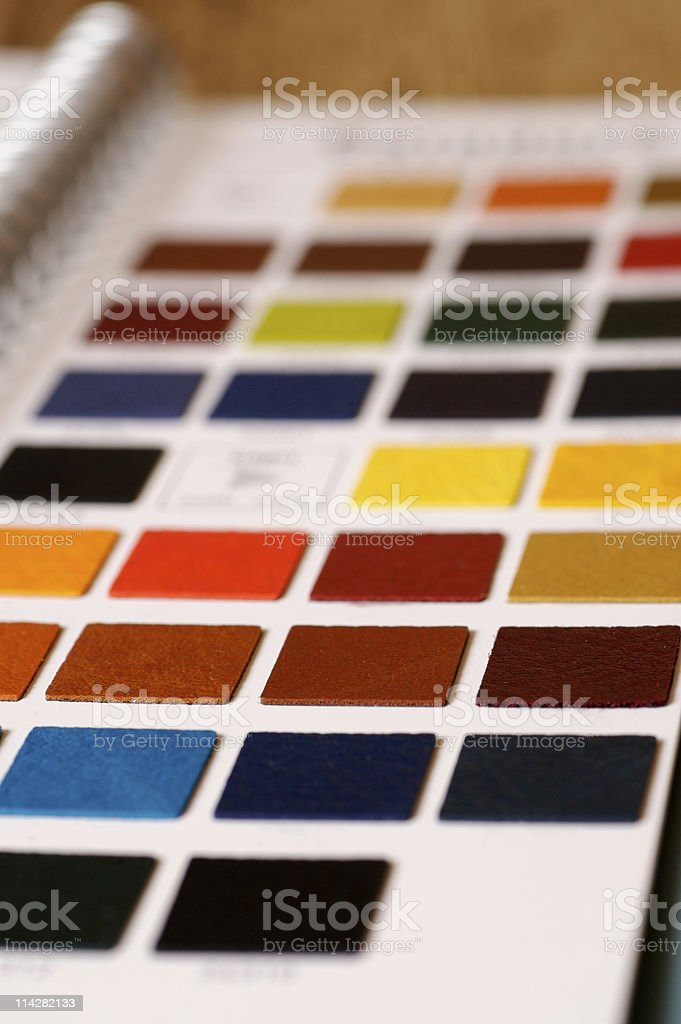 Swatch Book... royalty-free stock photo