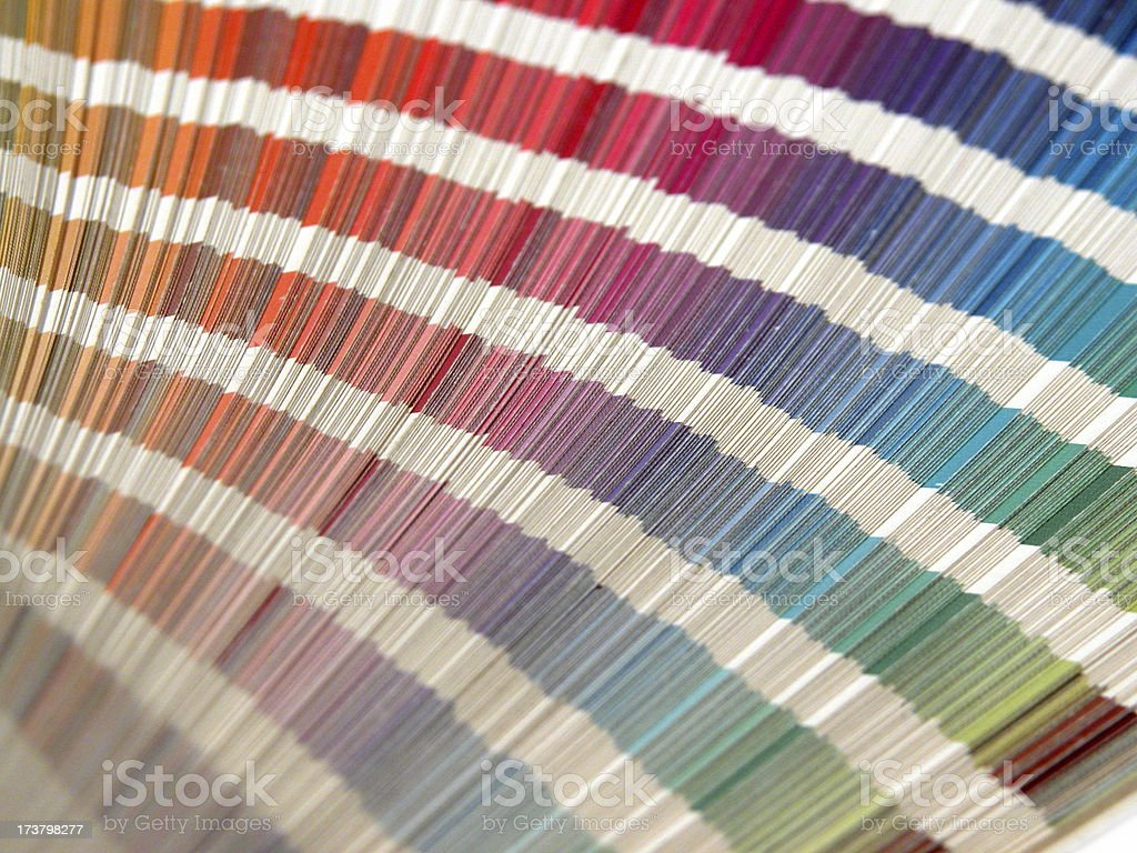 Swatch book royalty-free stock photo