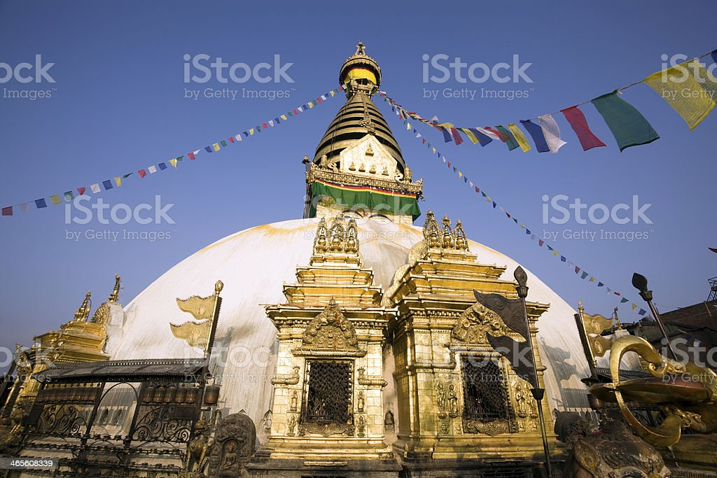 Swayambhunath royalty-free stock photo