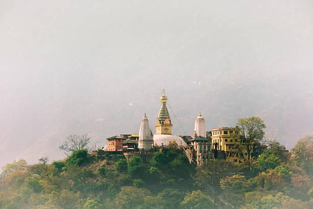 Swayambhunath por estupa - foto de stock