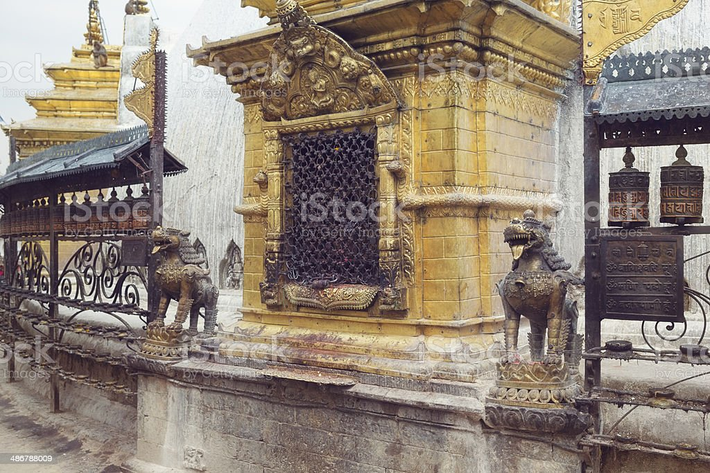 Swayambhunath Stupa, Kathmandu, Nepal royalty-free stock photo