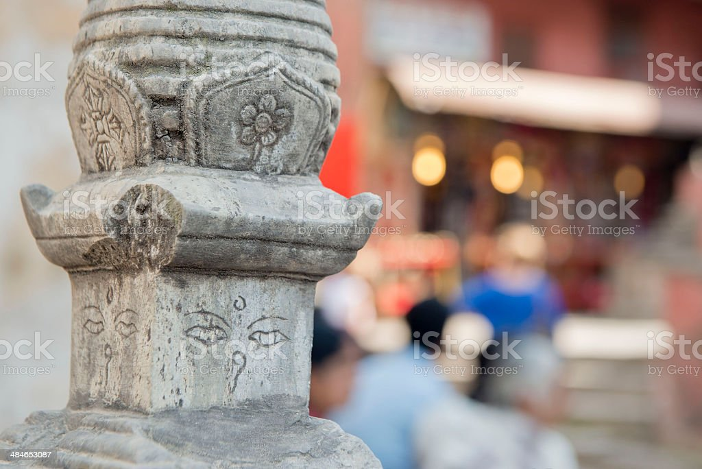 Swayambhunath Stupa royalty-free stock photo