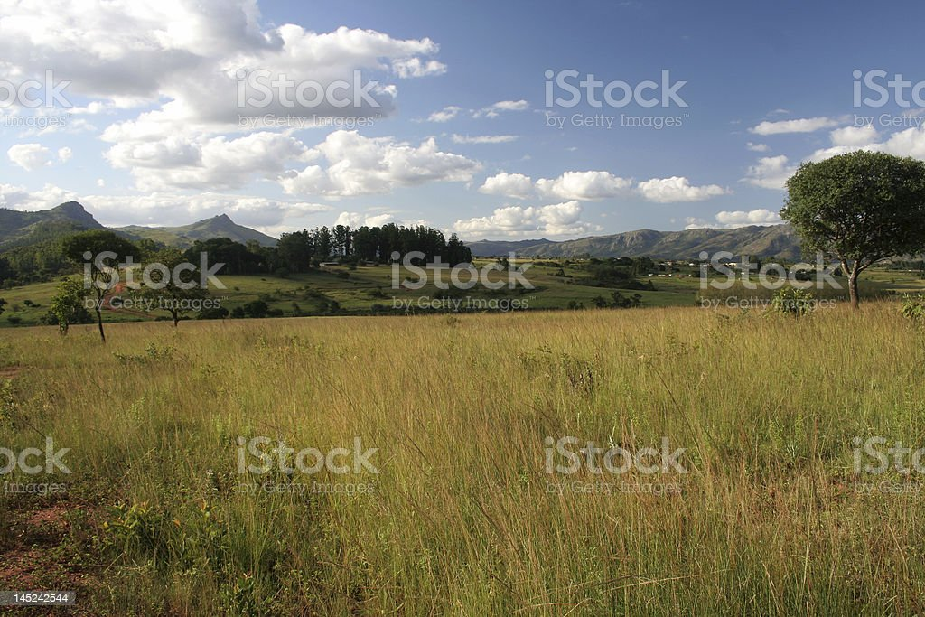 Swaziland Landscape stock photo