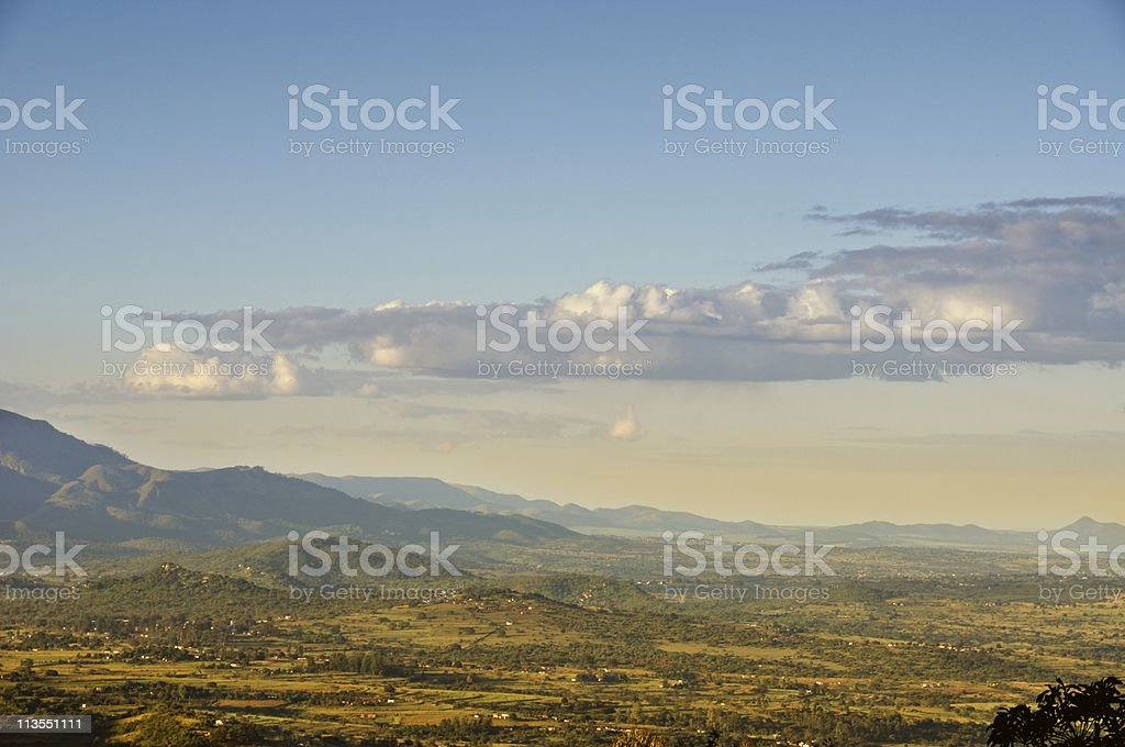 Swaziland panorama stock photo