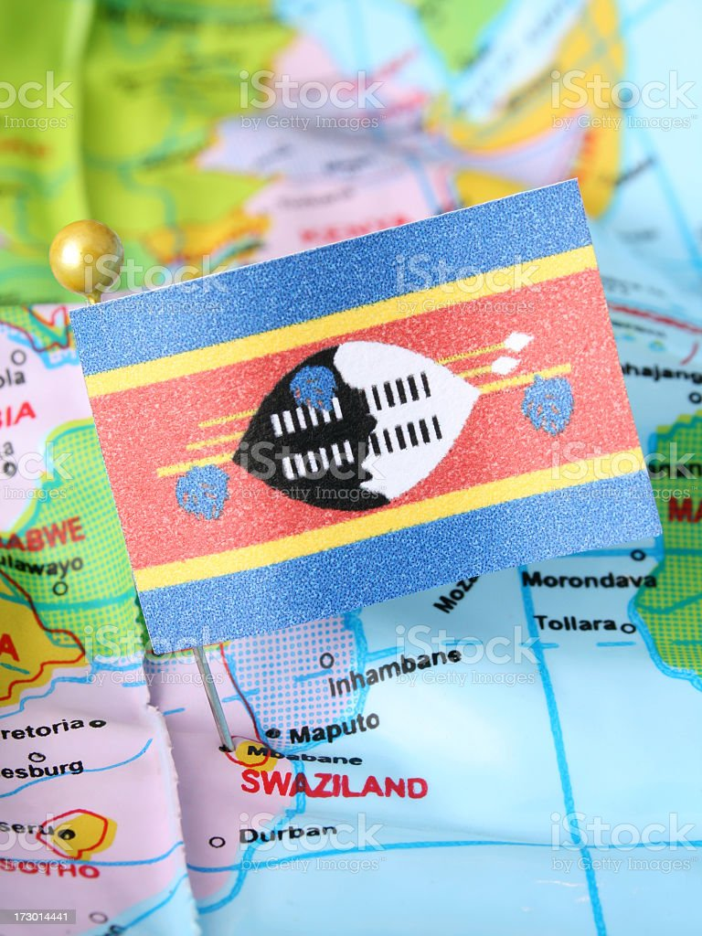 Swaziland royalty-free stock photo