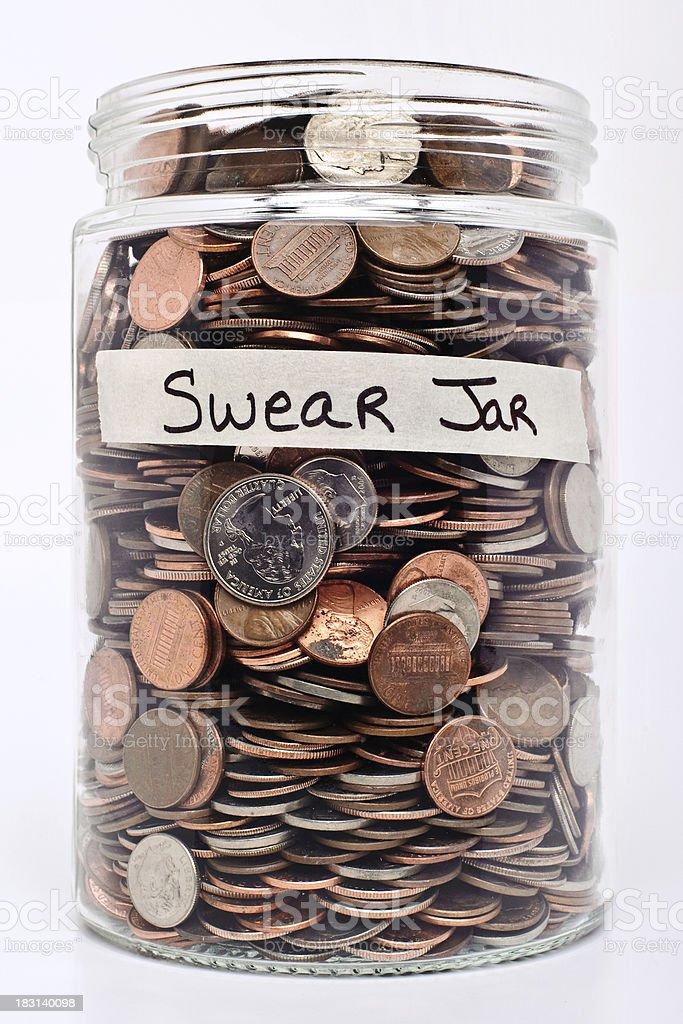 Swear Jar royalty-free stock photo