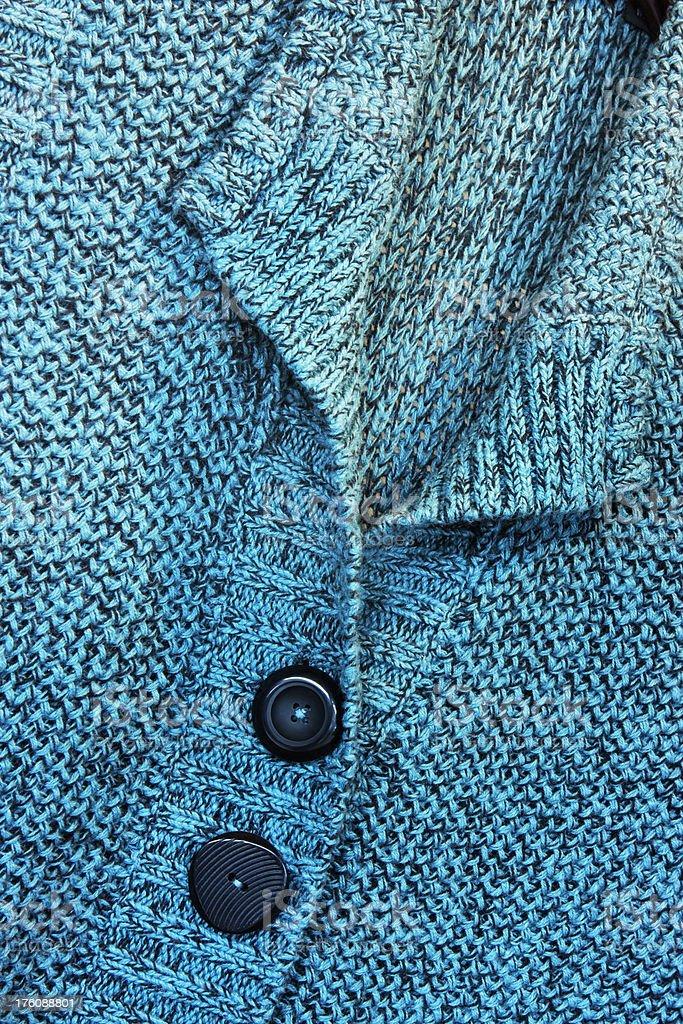 Sweater Button Neckline Female Fashion royalty-free stock photo