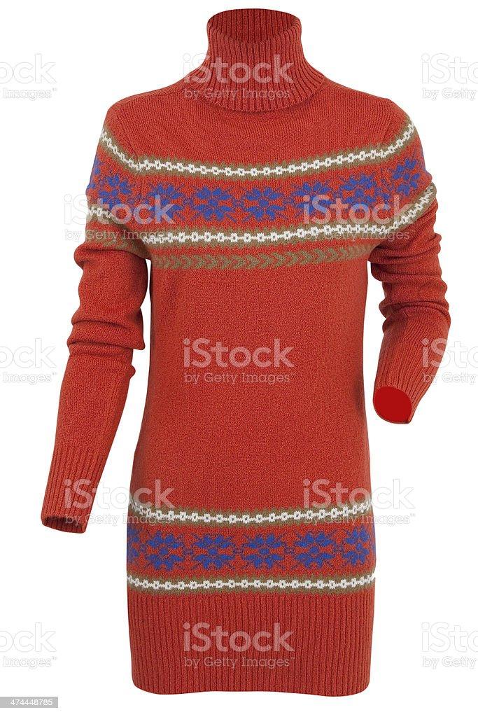 Sweater stock photo