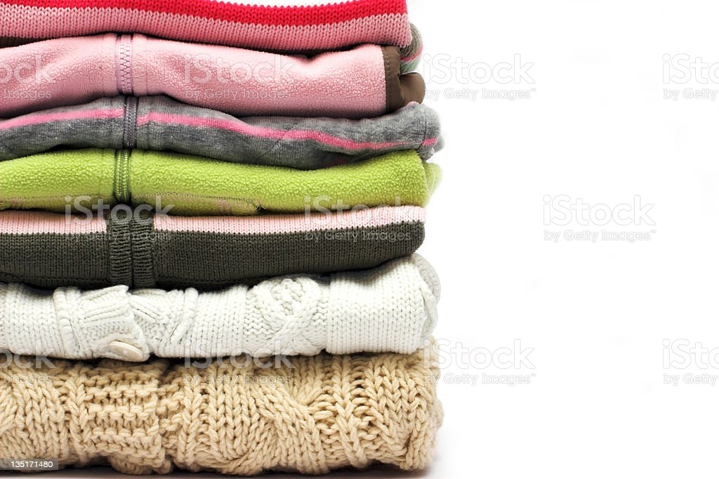Sweaters royalty-free stock photo