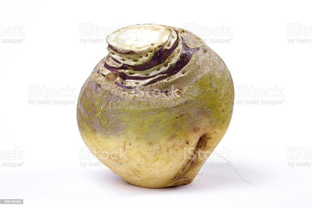 Swede or Turnip stock photo