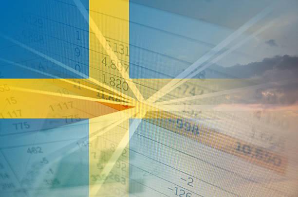 Schweden Wirtschaft-Konzept – Foto