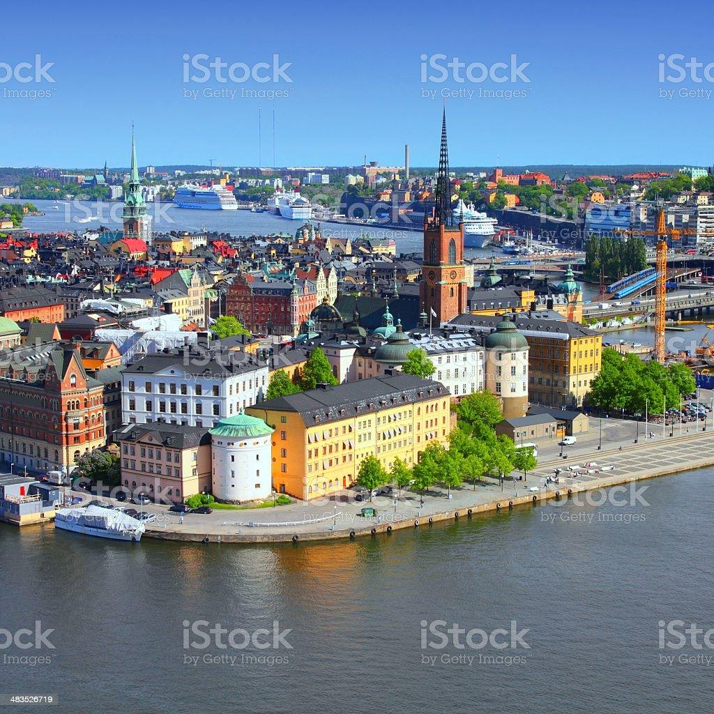 Sweden - Stockholm stock photo