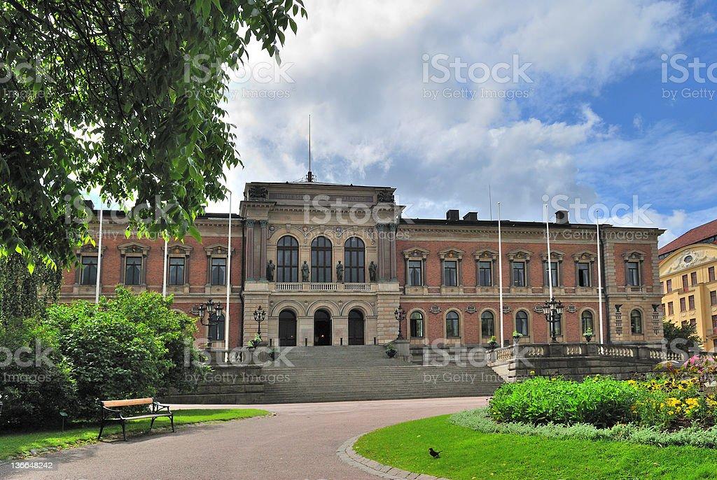 Sweden. University of Uppsala stock photo