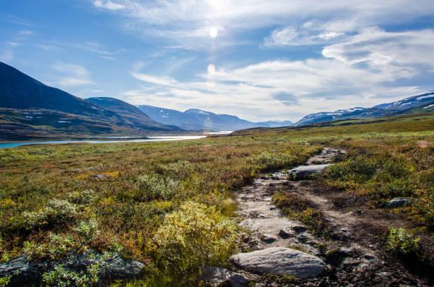 sveriges vackra landskap - norrbotten bildbanksfoton och bilder