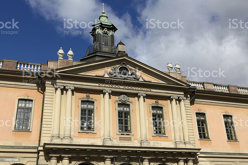 Swedish Academy stock photo