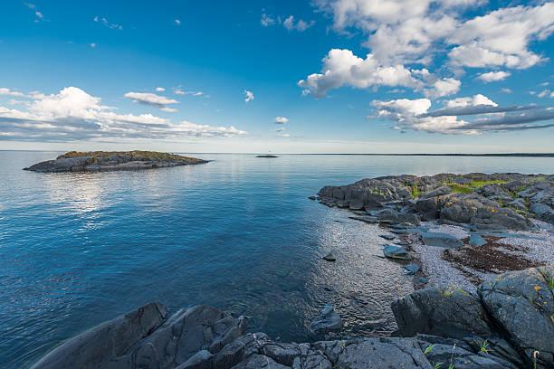 Swedish archipelago stock photo
